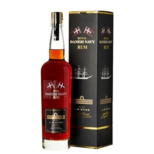A.H. Riise Frogman rum 58% pdd. 0,7