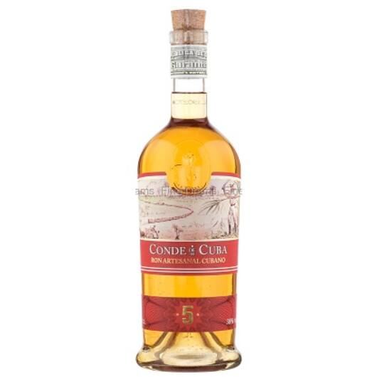 Conde de Cuba 5 éves rum 38% 0,7