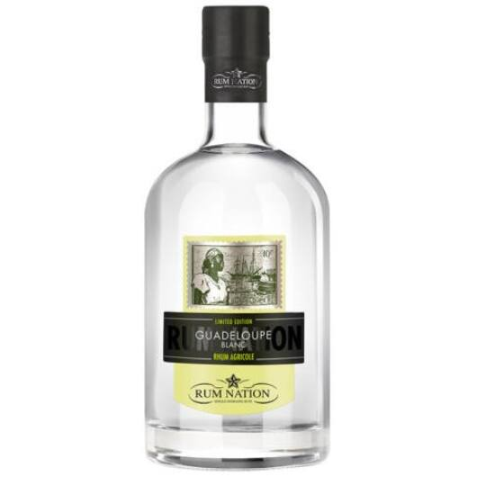 Rum Nation Guadeloupe Blanc Agricole - 0,7L (50%)