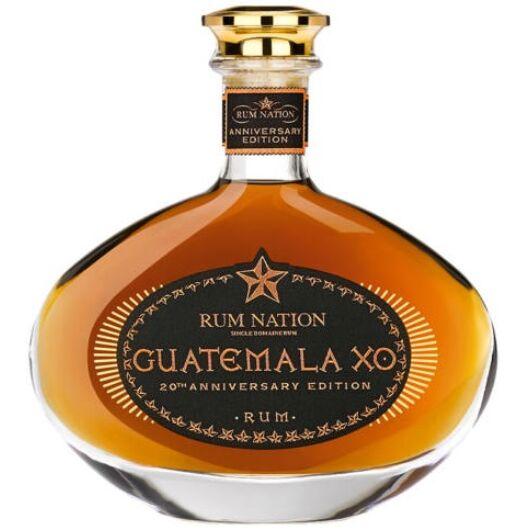 Rum Nation Guatemala XO 20th Anniversary Decanter - 0,7L (40%)