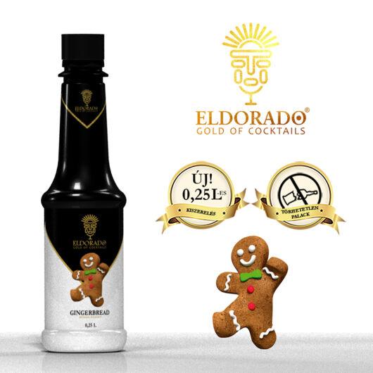 Kis Üveges Eldorado mézeskalács szirup 0,25
