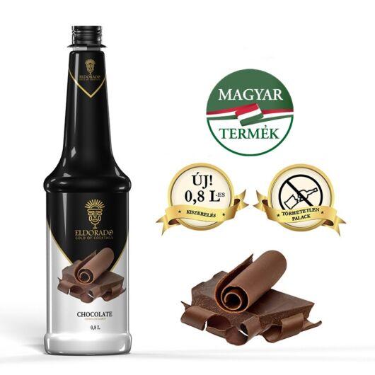 Eldorado csokoládé sziirup 0,8