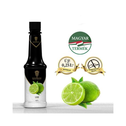 Eldorado Lime szirup 0,8 L