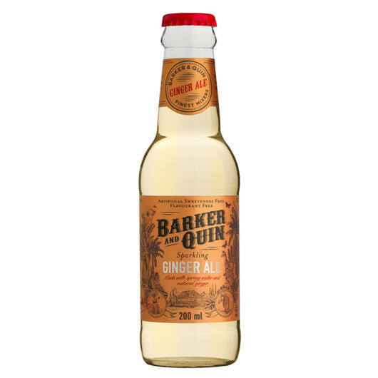 Barker & Quin dél afrikai Ginger Ale 200 ml